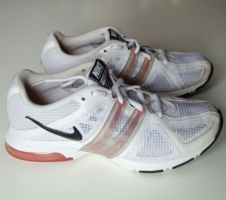 baad335b59 ... Nike Air Max Trainer Excel Running Pink White Trainers Size 4 UK 37,5  EUR ...