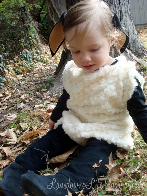 Possible DIY for a sheep costume