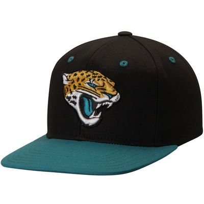 Jacksonville Jaguars Youth Loyal Snapback Adjustable Hat - Black/Teal