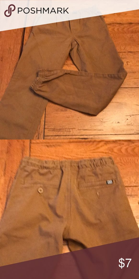 Brown jogger pants Material more like pants than sweats. Elastic at ankles. Bundle available with similar pants. Bottoms Sweatpants & Joggers