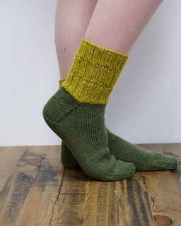 """""""Bob,"""" by Rachel Coopey, knit with CoopKnits Socks Yeah! DK."""