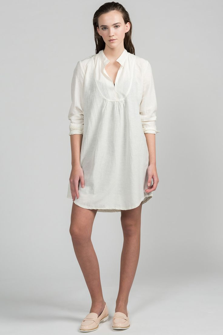 At Bat Tunic by Pillar.  Eco-friendly tunic.  Made in Canada.