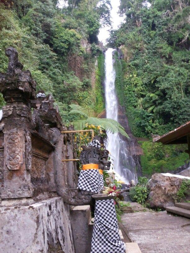 #Gitgit waterfall Singaraja Bali