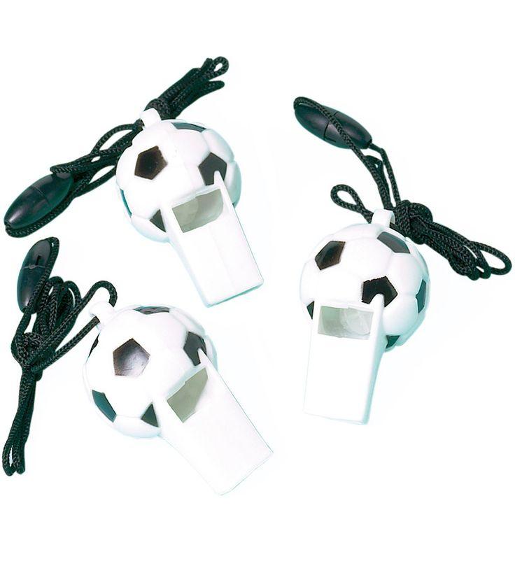 12 fischietti Pallone di calcio su VegaooParty, negozio di articoli per feste. Scopri il maggior catalogo di addobbi e decorazioni per feste del web,  sempre al miglior prezzo!