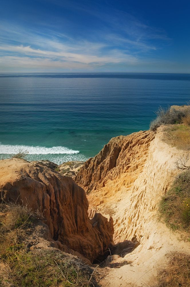 San Diego, CA: Torrey Pines State Reserve. LaJolla. One of my favorite beaches to spend time at with my high school friends.