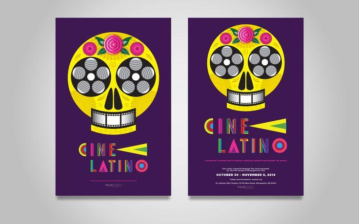UNO Branding – Cine Latino Festival