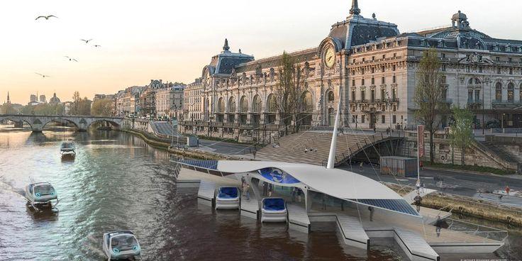 Des élus de tous bords rêvent de développer des transports de passagers par voie fluviale. De Lorient à Marseille ou Paris, les projets foisonnent.