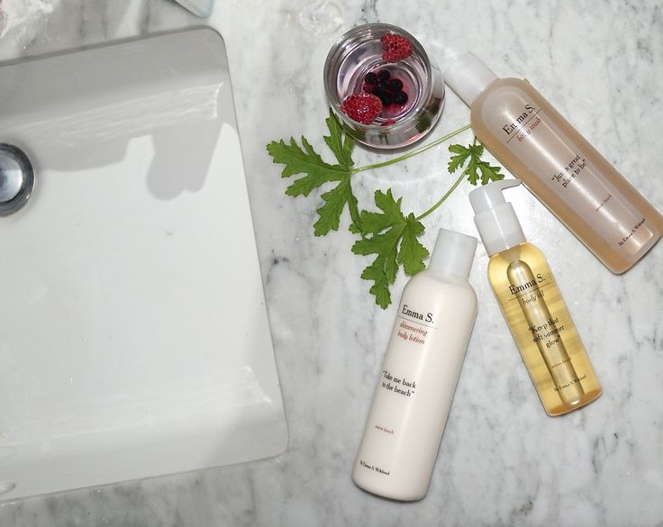 Emma S. skincare by Louise Estwall