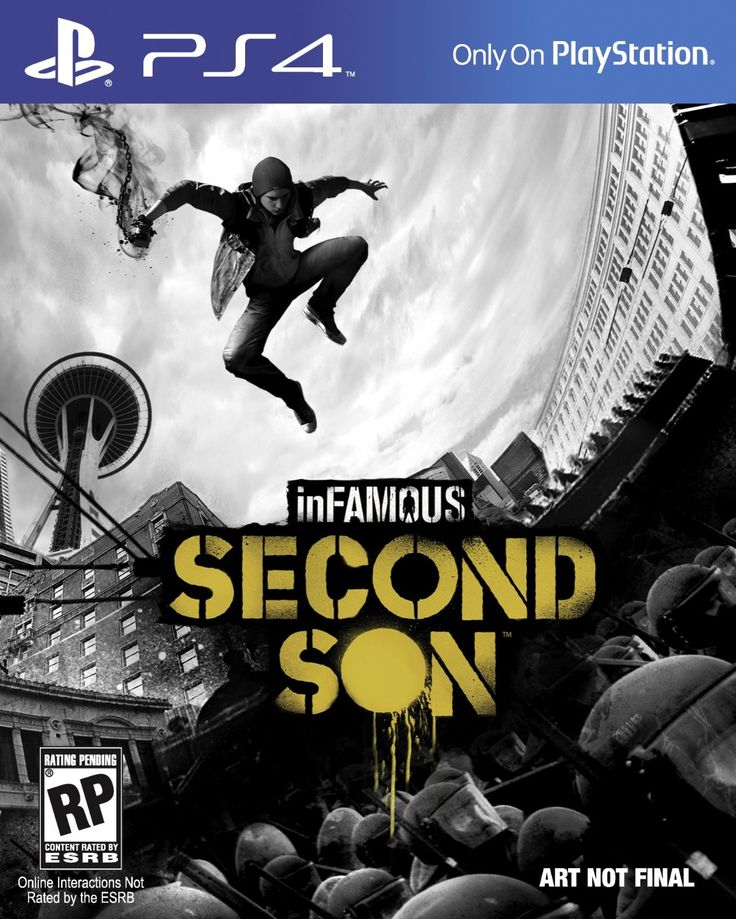 inFAMOUS: Second Son (PlayStation 4): Video Games on PlayStation 4 #PS4 #Gaming