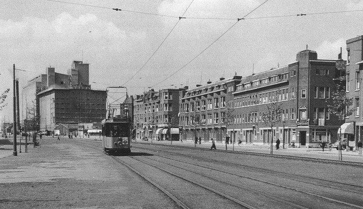 Putselaan Richting Maashaven/ Transvaalstraat 1962