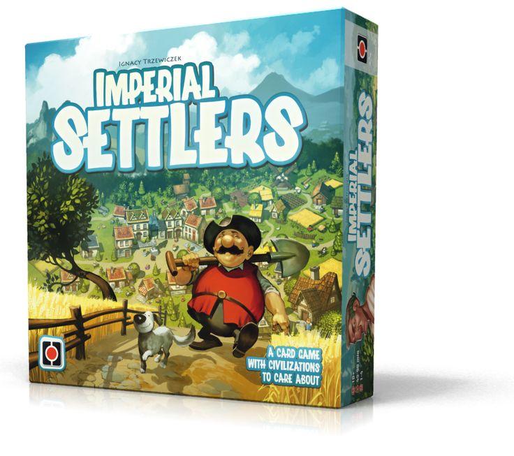 Imperial Settlers.  Art: Morano.  Design: Rafał Szyma