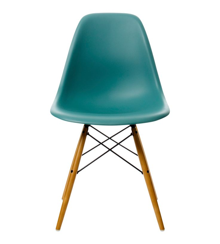 EAMES DSW CHAIR OCEAN BLUE WITH MAPLE BASE - Chairs - Chairs & Stools - Furniture - The Conran Shop UK