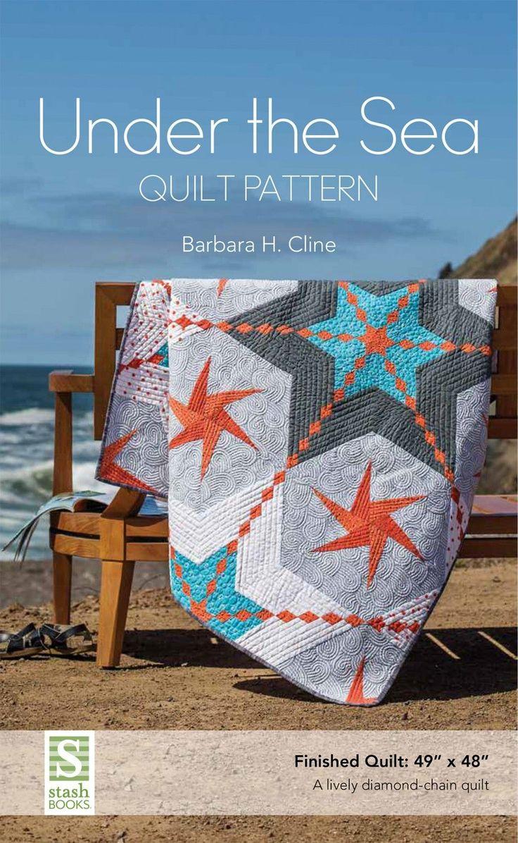 Under the Sea quilt pattern – Bloomerie Fabrics
