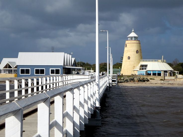 The Nautical Lady Tower, a mock lighthouse (1994) at Busselton, Western Australia, was demolished in July 2015 to make way for a redevelopment project.