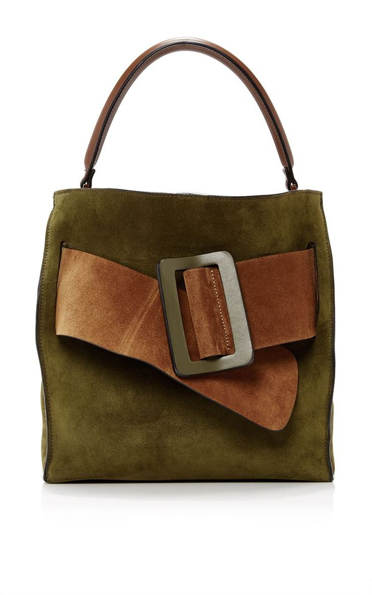 Colorblock Suede Devon Bag by BOYY Now Available on Moda Operandi – Marion Matthies