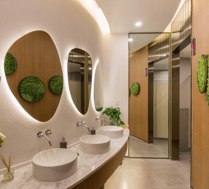 17 best images about public toilet on pinterest toilets for Best washroom design