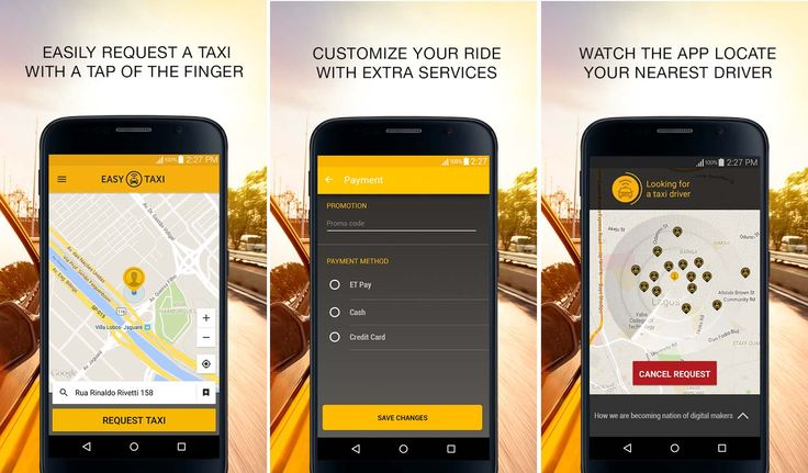 Easy Taxi - Your New Taxi App