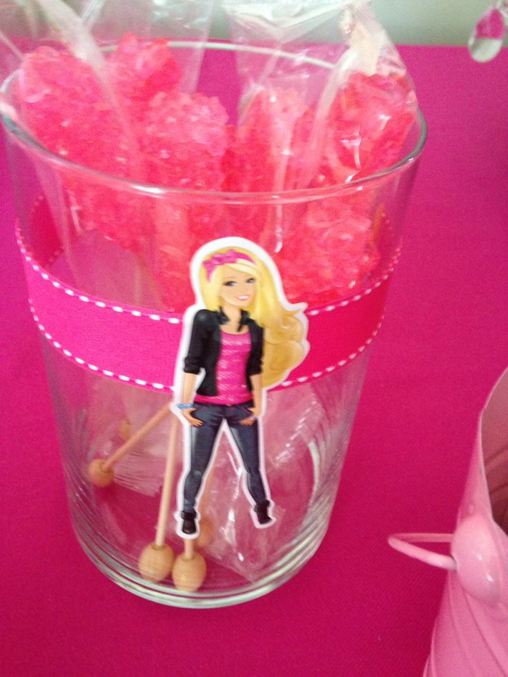 Rocky Candy -pink -Barbie candy bar