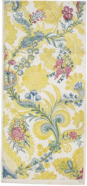 Design for Spitalfields silk by Anna Maria Garthwaite, 1729.