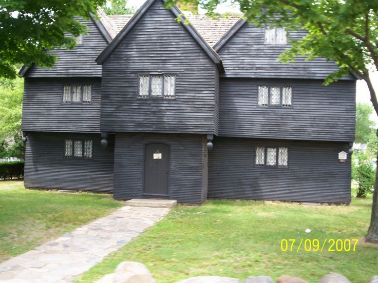 Last standing house associated with the witch trials, Salem MA