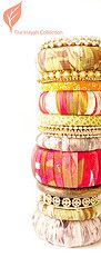 Indian/Ethnic + Contemporary Bangle Set (Inayah Collection) Tags: accessories bangles bridalwear indianbangles uniqueaccessories rhinestoneb...