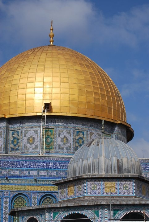 Dome of the Rock, Jerusalem. Photo credit: Michelle Collier.