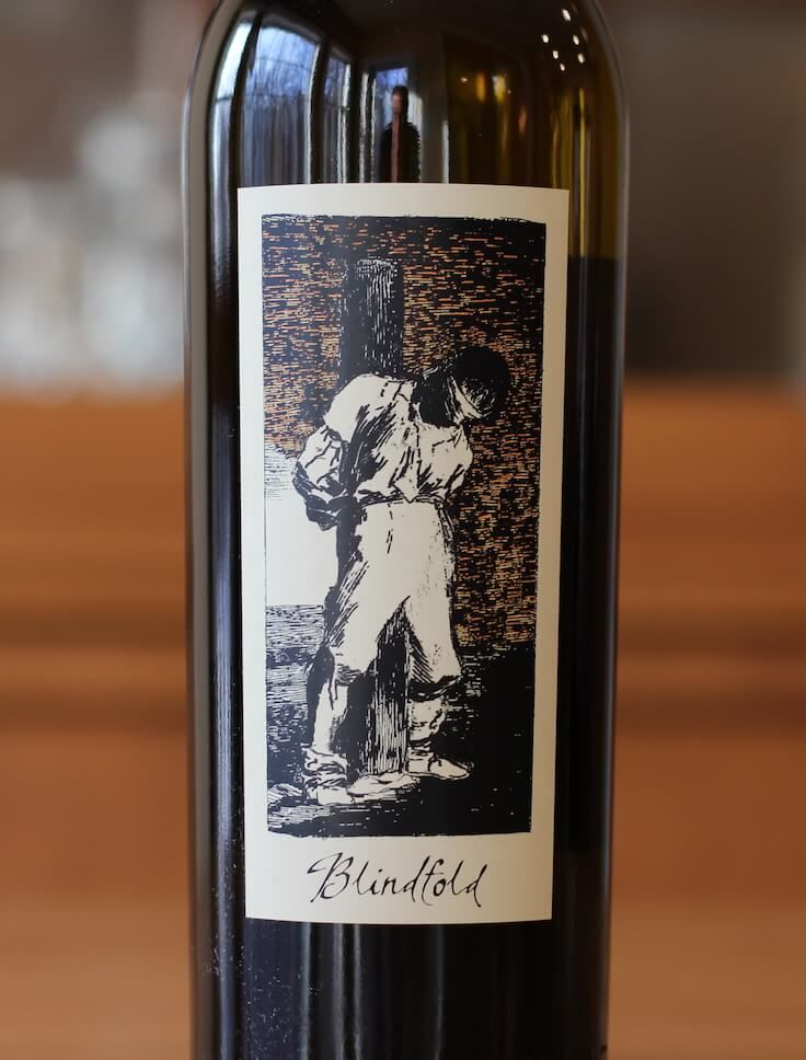 In this wine review, we revisit The Prisoner Wine Company and check out their white wine blend called Blindfold.  Click to discover just how many varietals make up this blend!