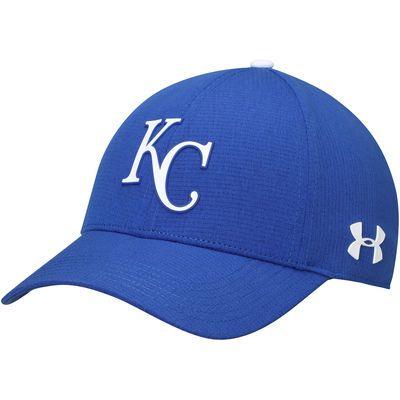 super popular 4e0a1 7ea5a Men s Under Armour Royal Kansas City Royals MLB Driver Cap 2.0 Adjustable  Hat