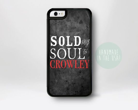 Crowley Supernatural iPhone Case Supernatural iPhone 6 by fancase