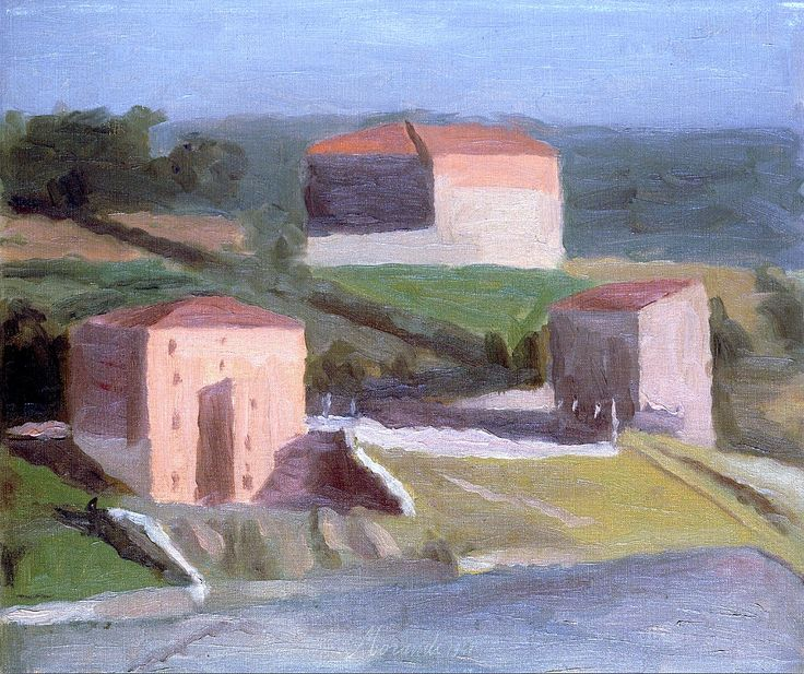 Giorgio Morandi - On the Outskirts of a Town 1941 1890 Bologna - 1964 Bologna
