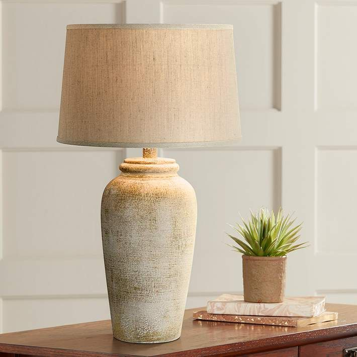 Lechee Sand Stone Table Lamp 13c10 Lamps Plus In 2021 Table Lamp Design Table Lamps Living Room Farmhouse Table Lamps