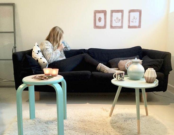 Autum livingroom•DIY decor•cobber @christinakalesh Caroline Lk