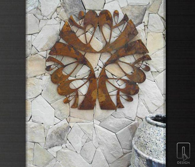 Ravi |  Laser Cut Decorative outdoor Garden Screen by Q DESIGN  |  Available from Watergarden Warehouse | www.watergardenwarehouse.com.au | Perth, Western Australia.