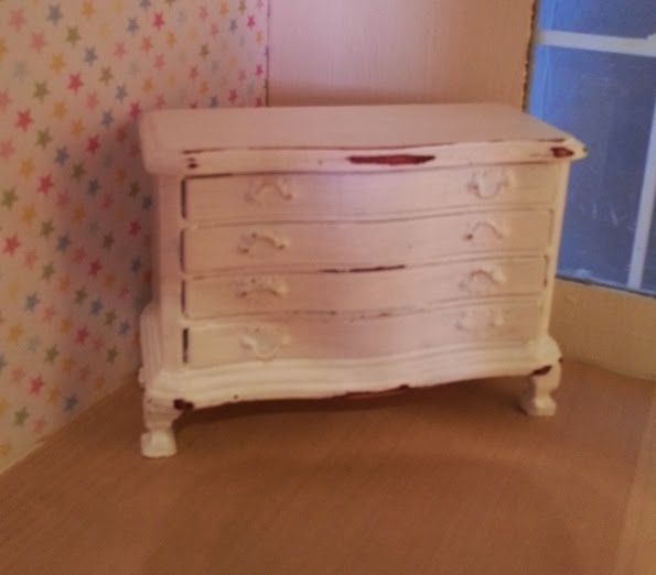 An unloved chest of draws now a gorgeous shabby chic piece to be proud of!