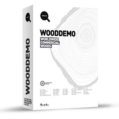 WOODDEMO Africa 1 / Ahşap Kitabı | ArtMan Design WOODDEMO Afrika Serisi`nin ilk kitabı olan Africa 1, 25 gerçek masif ahşap örneği içeriyor. Bir yüzü doğal bir yüzü vernikli numuneler, ahşabın ham ve işlenmiş halini görmenize imkan tanıyor.   Her bir WOODDEMO ahşabının kılıfı fiziksel ve mekanik özellikler, botanik ve ticari isimler, coğrafi dağılım, genel kullanım alanları gibi detaylı teknik bilgilere yer veriyor.