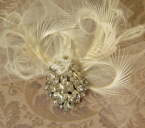 tulle fascinator: Tulle Fascinators, Jewelry Inspiration, Abigail Sum