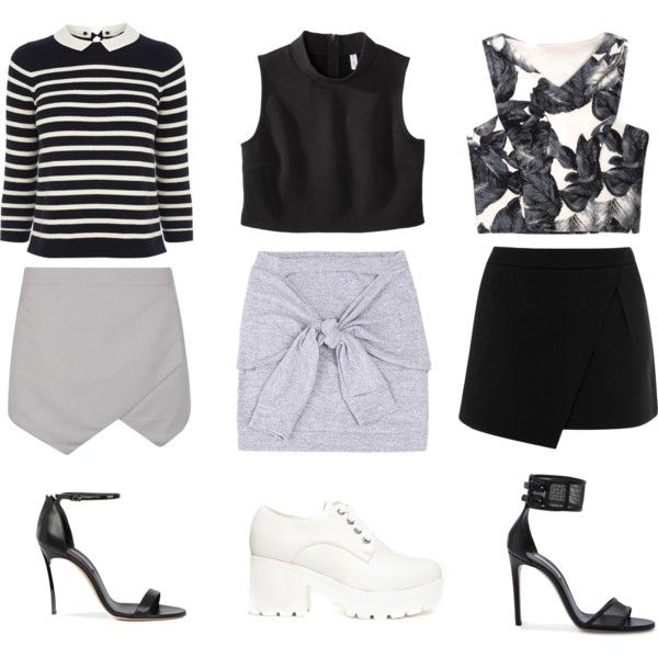 EVERYDAY WITH BLACK SET by flam16 on Polyvore featuring Oasis, Warehouse, Truffle, Casadei and Xhilaration