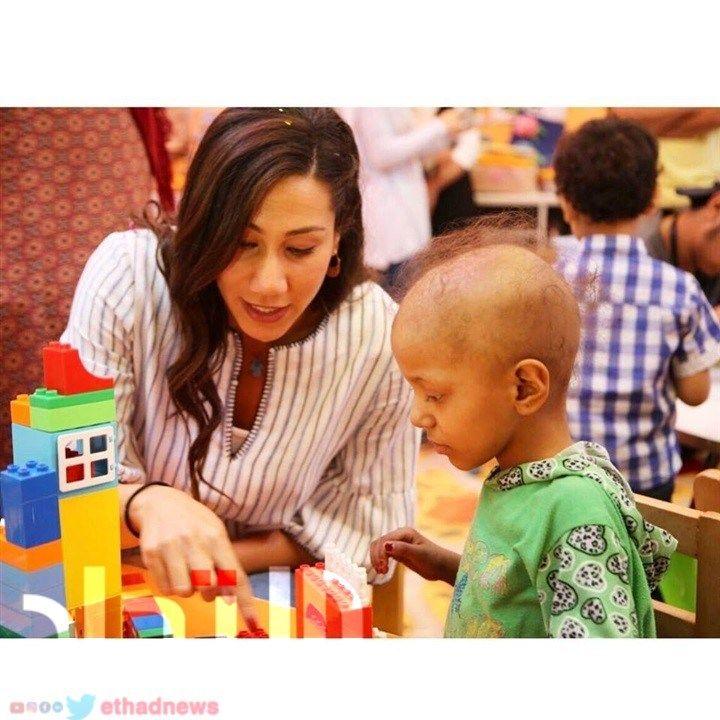 صور .. فريدة عثمان تدعم مستشفى 57357 - بوابة الاتحاد الاخبارية