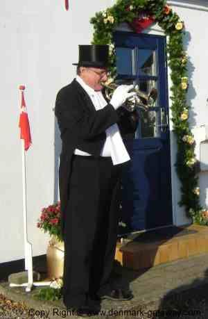 Danish Anniversary Traditions.