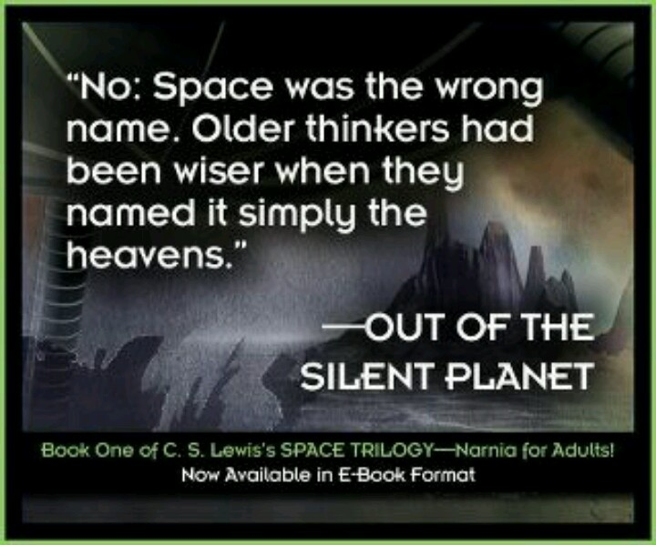 an analysis of out of the silent planet by cs lewis Out of the silent planet is the first novel of a science fiction trilogy written by c s lewis, sometimes referred to as the space trilogy, ransom trilogy or c.