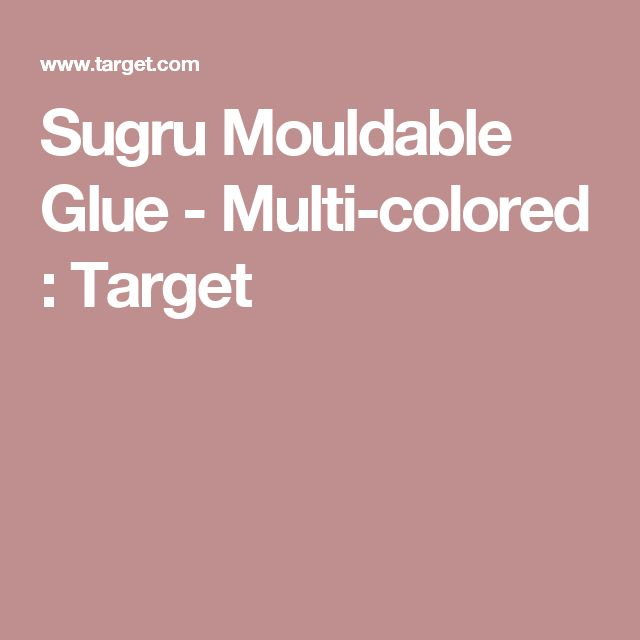 Sugru Mouldable Glue - Multi-colored : Target