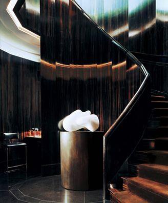 High Gloss Macassar Stair - Tom Ford Boutique x Studio Sofield