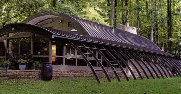 quonset hut home design 1950 the robert daniel house. Black Bedroom Furniture Sets. Home Design Ideas