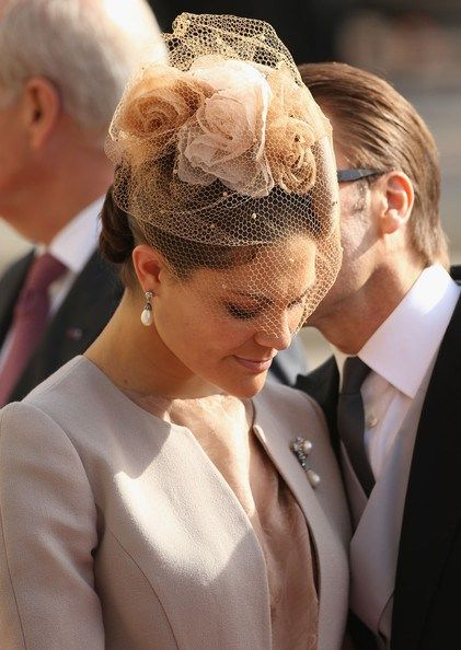 Luxembourg Wedding: The Swedish Royals....Posted on October 20, 2012 by HatQueen.....Queen Silvia, Prince Carl Philip, Crown Princess Victoria and Prince Daniel represented the Swedish Royal Family at this event.