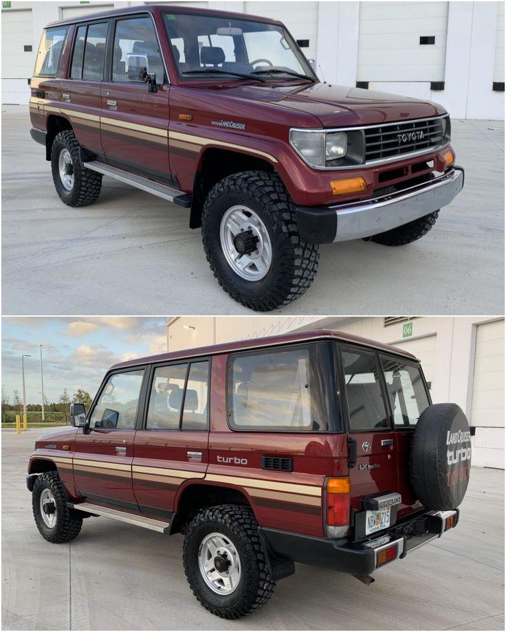 1993 Toyota Land Cruiser FJ77 in 2020 Toyota land