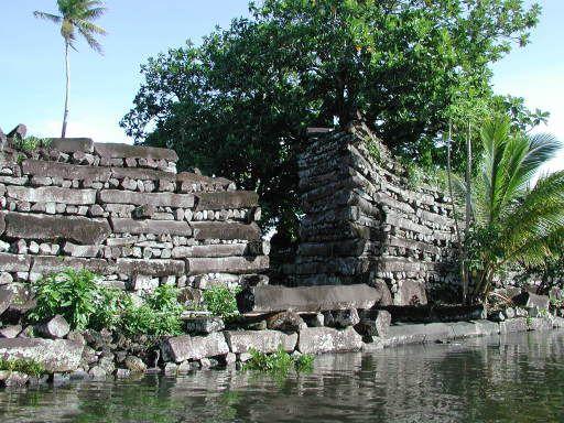 Nan Modal, on the island of Pohnpei