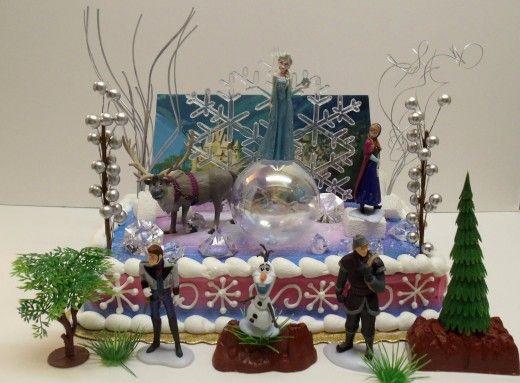 Incrível bolo congelado Aniversário