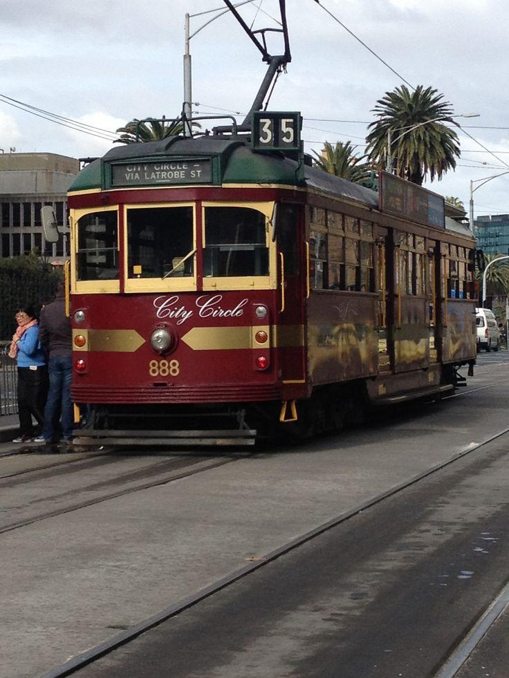 City Circle Tram Melbourne Victoria