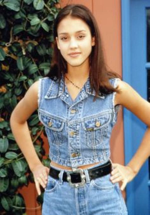 Young Jessica Alba in Sleevele... is listed (or ranked) 5 on the list 18 Pictures of Young Jessica Alba