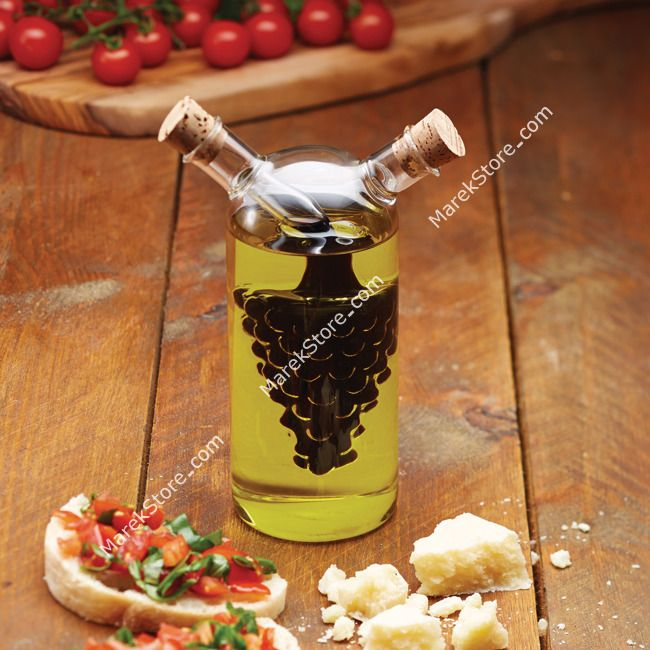 Dozownik do oliwy i octu 2w1 - 300/50 ml   KITCHEN CRAFT WORLD OF FLAVOURS